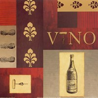Vino in Red I Fine-Art Print