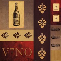 Vino in Red II Fine-Art Print