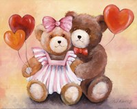Teddy Love Fine-Art Print