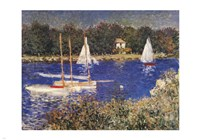 The Bassin at Argenteuil Fine-Art Print