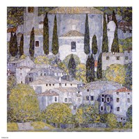 Church at Cassone on garda Fine-Art Print
