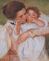 Mother and Child - Detail Fine-Art Print