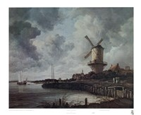 Windmill Near Wijk Fine-Art Print