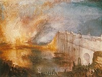 Burning of the Houses of Parliament Fine-Art Print