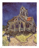 The Church at Auvers, c.1890 Fine-Art Print