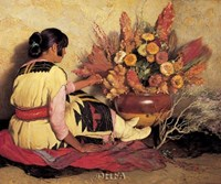 Crucita, a Taos Indian Girl Fine-Art Print