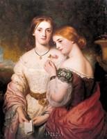 Two Victorian Beauties Fine-Art Print