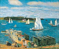Mahone Bay, 1911 Fine-Art Print