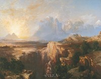 Rock Towers of the Rio Virgin Fine-Art Print