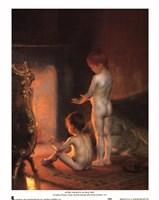 After the Bath, 1890 Fine-Art Print