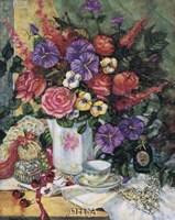 Victorian Bouquet II Fine-Art Print