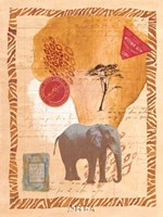 Travel Elephant Fine-Art Print