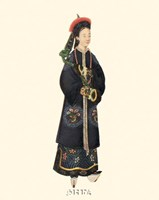 Chinese Mandarin Figure X Fine-Art Print