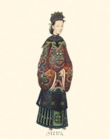 Chinese Mandarin Figure XI Fine-Art Print