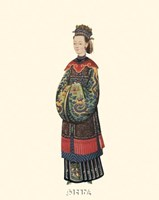 Chinese Mandarin Figure IV Fine-Art Print