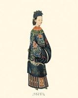Chinese Mandarin Figure II Fine-Art Print