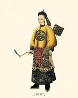 Chinese Mandarin Figure VII Fine-Art Print