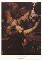 Angel (Detail from The Annunciation) Fine-Art Print