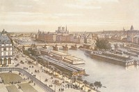 View of the Seine from the Louvre Fine-Art Print
