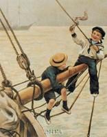 Jolly Little Sailor Fine-Art Print