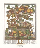June/Twelve Months of Fruits, 1732 Fine-Art Print