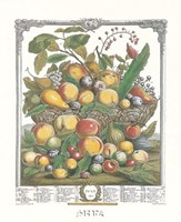 July/Twelve Months of Fruits, 1732 Fine-Art Print