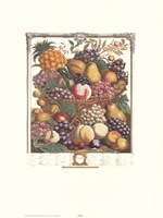October/Twelve Months of Fruits, 1732 Fine-Art Print