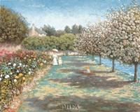 In the Rose Garden Fine-Art Print