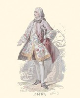 French Costumes Fine-Art Print
