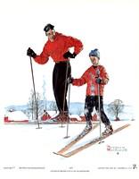 Ski Skills Fine-Art Print
