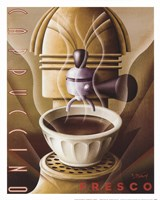 Cappuccino Fresco Fine-Art Print