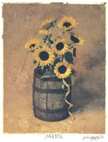 Nine Sunflowers Fine-Art Print