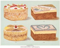 Decorated Gateaux-Occasion Fine-Art Print