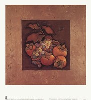 Persimmons and Grapes Fine-Art Print