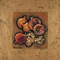 Pomegranates and Grapes Fine-Art Print