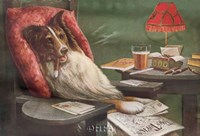 A Bachelor's Dog Fine-Art Print