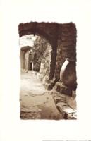 Archway and Stone Jar Fine-Art Print