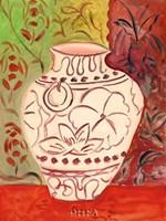Lotus Pot I Fine-Art Print