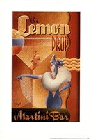Lemon Drop Martini Bar Fine-Art Print