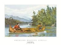 American Hunting Scenes Fine-Art Print