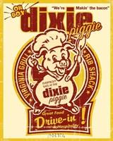 Dixie Piggie Drive-In Fine-Art Print