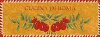 Cucina di Roma Fine-Art Print