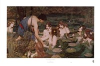 Hylas and the Nymphs Fine-Art Print