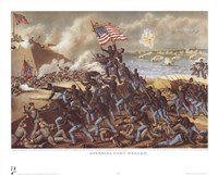 Storming Fort Wagner Fine-Art Print