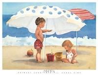 Primary Sand Talk Fine-Art Print