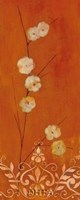 Sienna Flowers I Fine-Art Print