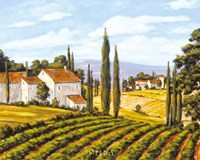 A View of the Valley - field Fine-Art Print