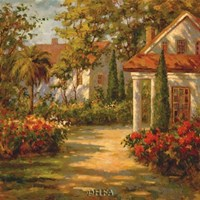 Sunlit Path Fine-Art Print