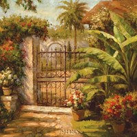 Entrance to the Guesthouse Fine-Art Print