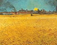 Cornfields Near Arles Fine-Art Print